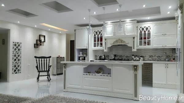 کابینت وکیوم آشپزخانه