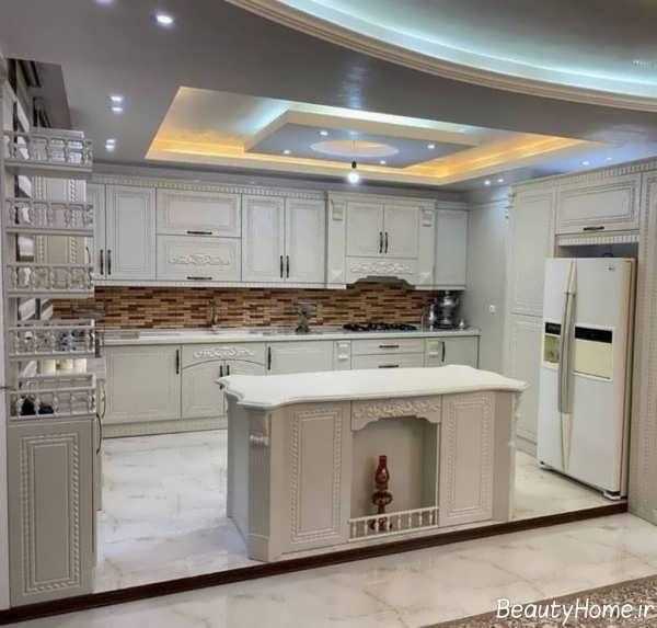 مدل کابینت آشپزخانه وکیوم