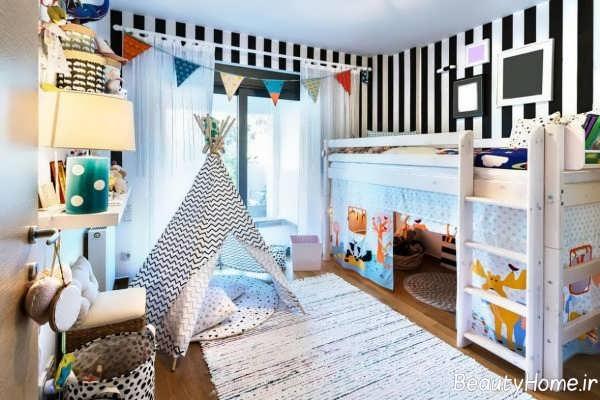 بازسازی زیبا برای اتاق کودک