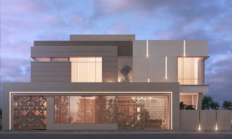 ۷۰ طرح زیبا برای نمای ساختمان ۲۰۲۱ با طراحی مدرن و کلاسیک