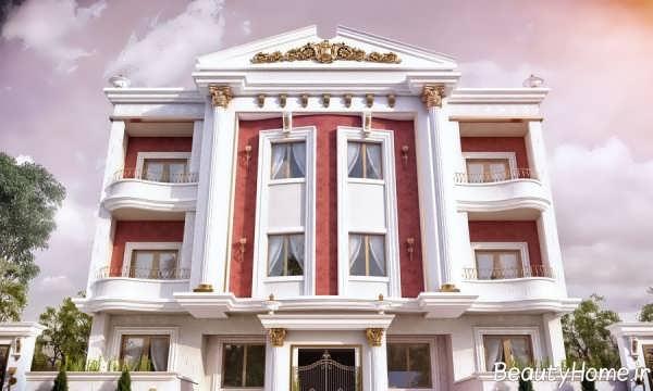 نما زیبا و خاص ساختمان