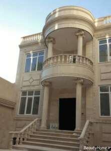 نمای کلاسیک ساختمان