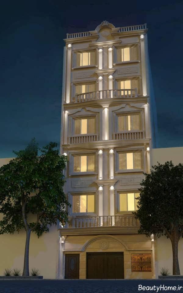نورپردازی نمای ساختمان 2021