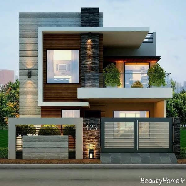 نما زیبا برای ساختمان