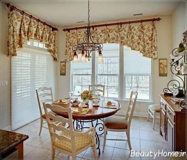 پرده زیبا برای آشپزخانه