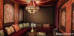 اتاق نشیمن خاورمیانه ای