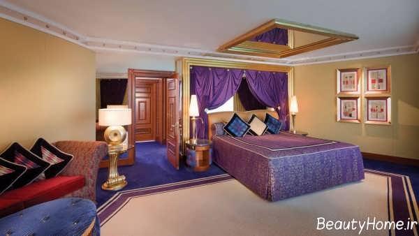 دکوراسیون اتاق خواب خاورمیانه ای