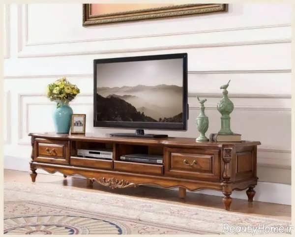 میز تلویزیون کلاسیک و خاص