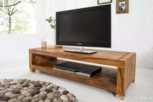 میز تلویزیون چوبی و شیک
