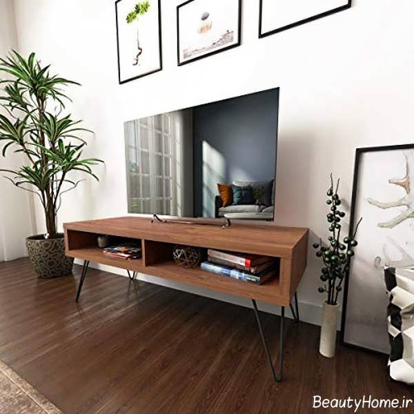 میز تلویزیون شیک و پایه دار