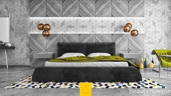 دیزاین اتاق خواب صورتی