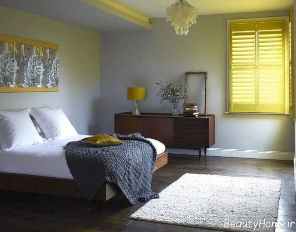 اتاق خواب زیبا طوسی