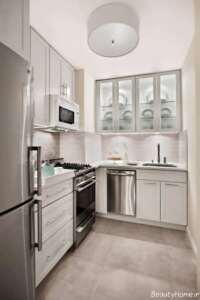 طراحی آشپزخانه بدون کابینت