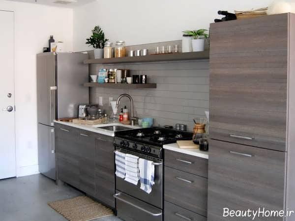 دکوراسیون آشپزخانه بدون پنجره شیک و کاربردی