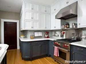 مدل کابینت آشپزخانه 2021 شیک و کلاسیک