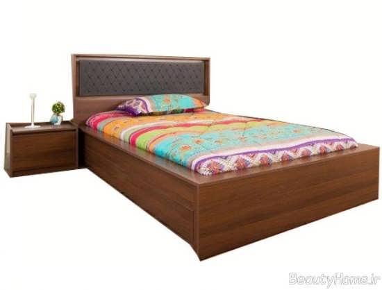 مدل تختخواب زیبا و چوبی