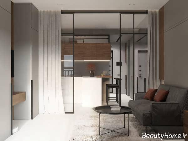 دکوراسیون خانه کوچک با رنگ سفید