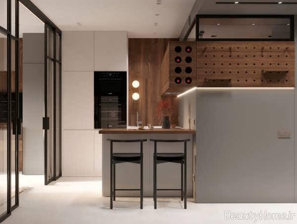 طراحی داخلی خانه با رنگ سفید
