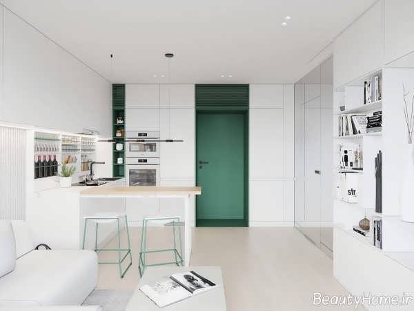 طراحی شیک خانه کوچک