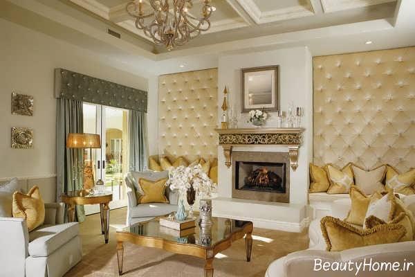 طراحی داخلی زیبا و شیک ویکتوریایی