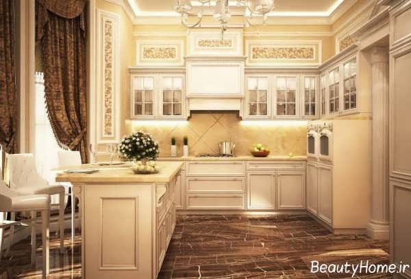 دکوراسیون آشپزخانه ویکتوریایی