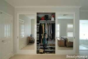 کمد دیواری آینه دار
