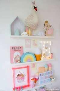 شلف دیواری زیبا و بی نظیر برای اتاق کودک