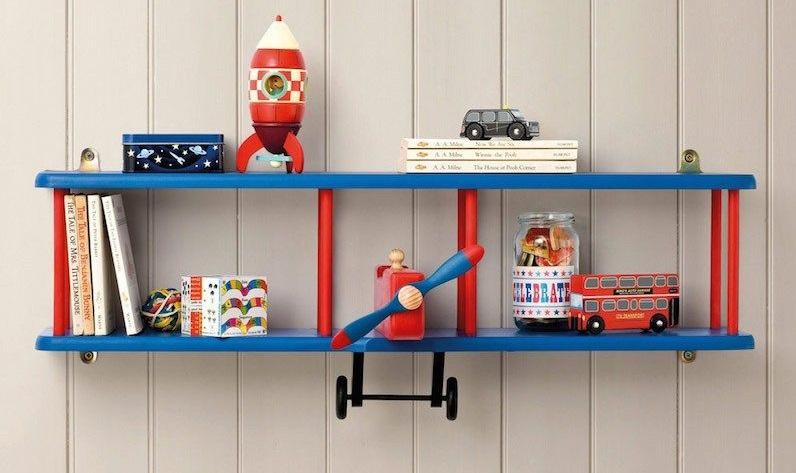 مدل شلف دیواری اتاق کودک