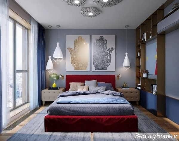 طراحی دکوراسیون داخلی اتاق خواب فانتزی