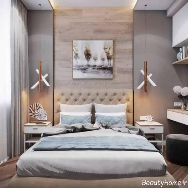 نورپردازی اتاق خواب شیک