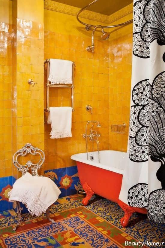 دکوراسیون زیبا سرویس بهداشتی