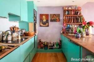 دکوراسیون آشپزخانه به سبک بوهمیان