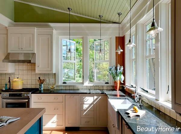 کابینت شیک برای آشپزخانه