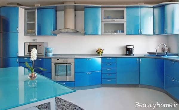 انتخاب رنگی مناسب برای کابینت آشپزخانه