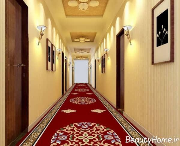 انتخاب رنگ برای راهروی بین اتاق ها