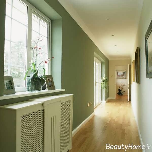 انتخاب رنگ برای دیوار راهروی منزل