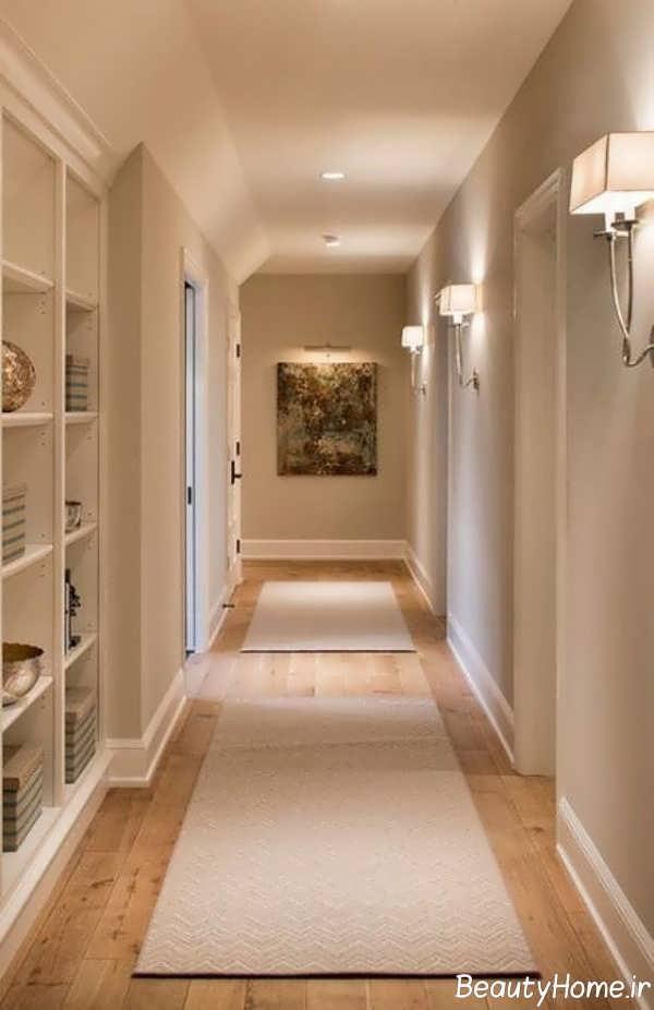 انتخاب رنگ راهروی بین اتاق ها