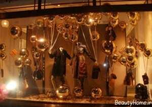 تزیین جذاب ویترین برای مغازه