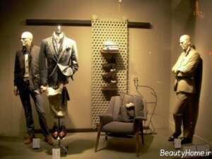 تزیین ویترین فروشگاه پوشاک