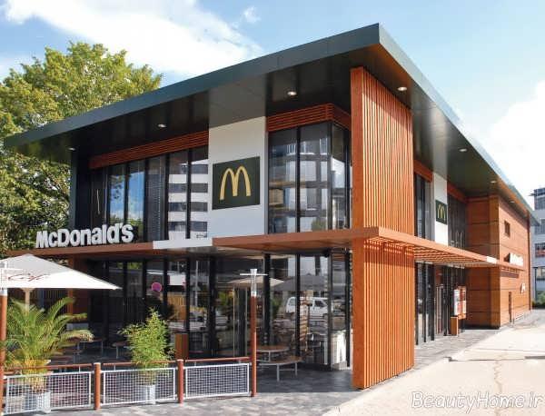 دیزاین نما مخصوص رستوران