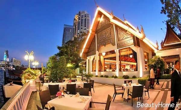 نمای کلاسیک رستوران