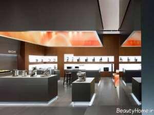 طراحی داخلی مدرن فروشگاه لوازم خانگی