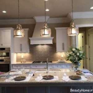 دیزاین نورپردازی برای آشپزخانه