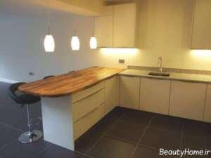 طراحی نورپردازی برای اپن آشپزخانه کوچک و بزرگ