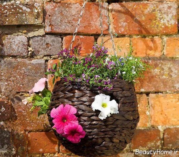 گلدان شیک آویز
