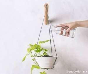 مدل گلدان آویز زیبا و شیک