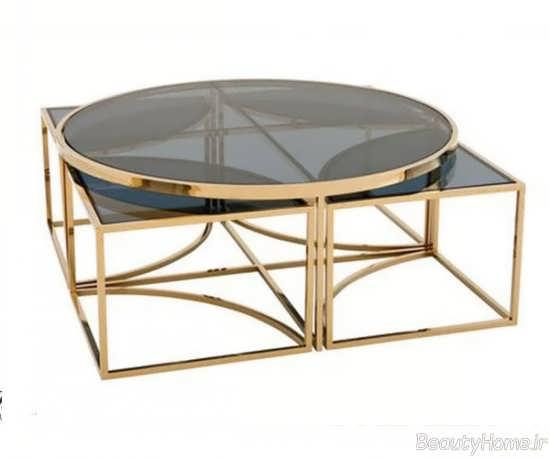 طرح میز عسلی استیل