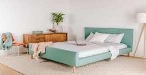 دکور رنگی و زیبا برای اتاق خواب