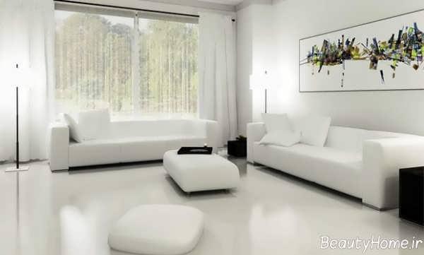 دکوراسیون منزل با رنگ استخوانی