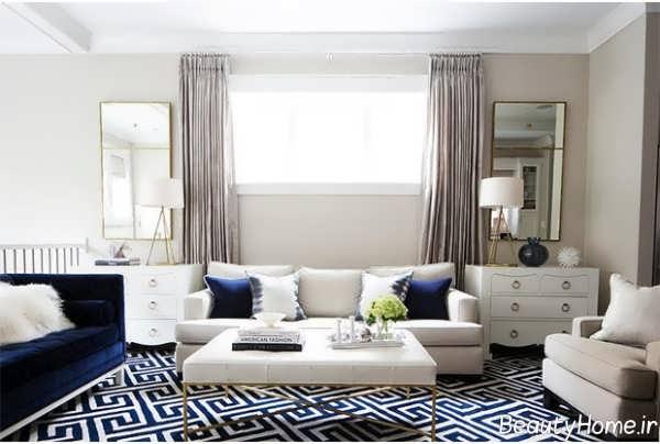دیزاین داخلی منزل با رنگ استخوانی